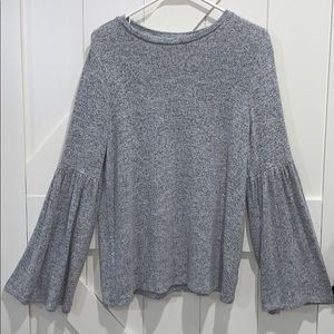 Philosophy Grey Sweater Size Small